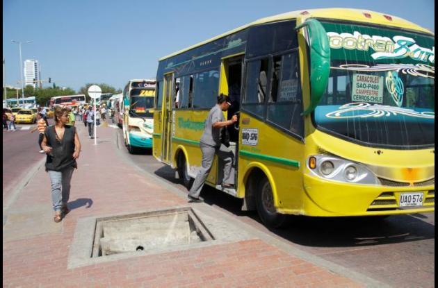 Servicio de transporte público en Cartagena