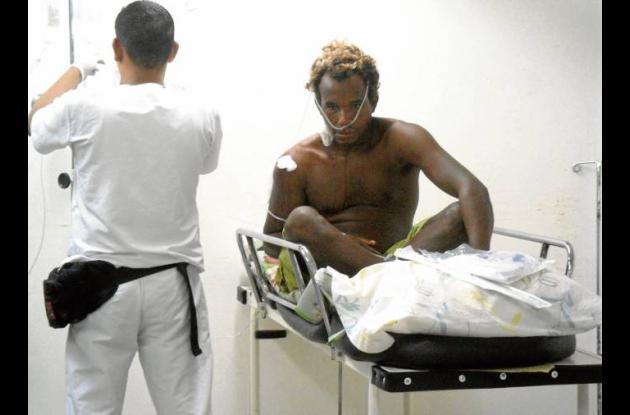 Felipe Berrío Newball, baleado mientras buceaba.