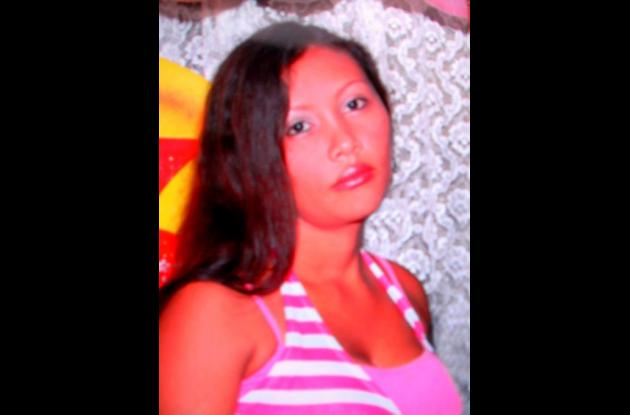 Cindy Tatiana Orozco Monterrosa, ahogada.