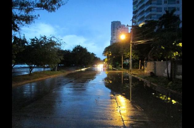 Calle 5, de Castillogrande.