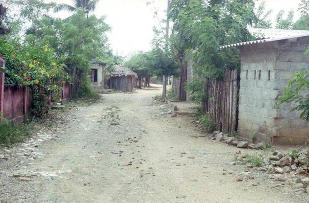 En algunas zonas rurales de Simití, las calles parecen desiertas por temor de la