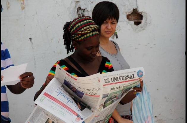 Comunidades afro marchan por sus derechos.