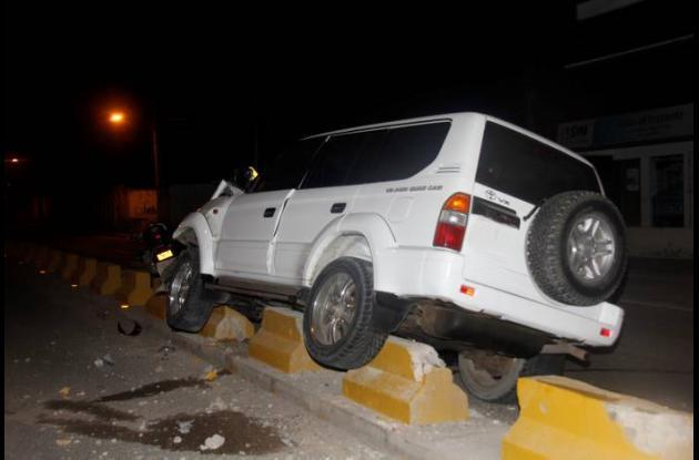 accidente camioneta cartagena
