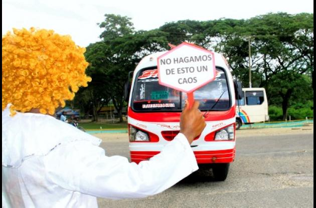 Estación de transferencia para buses de Turbaco