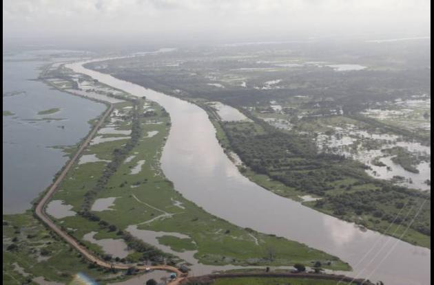 El nivel de las aguas está a 80 centímetros de la cota de desbordamiento en Sopl