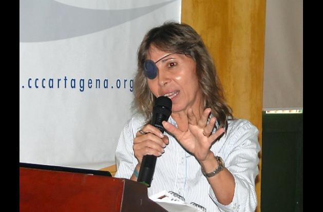 Roxana Segovia, candidata a la Alcaldía de Cartagena.