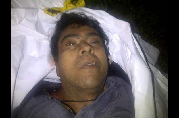 el cuerpo de Cano fue trasladado a Popayán en horas de la madrugada de este sába