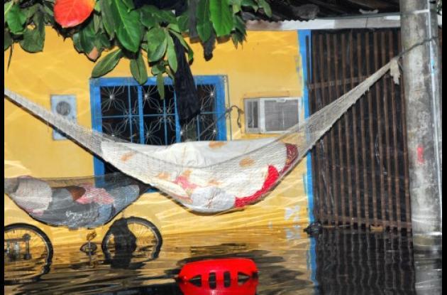 inundaciones en Cantagallo, sur de Bolívar.