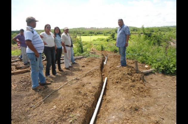 El alcalde Sebastián Cañas y funcionarios de la Administración Municipal inspecc