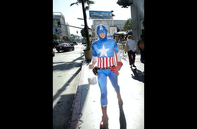 """Captain America: The First Avenger"" ingresó casi 66 millones de dólares en su l"
