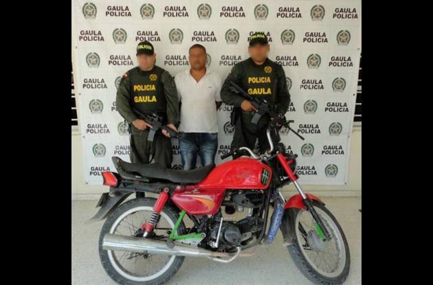 En el barrio La Candelaria cayó alias 'Alex', de 36 años.