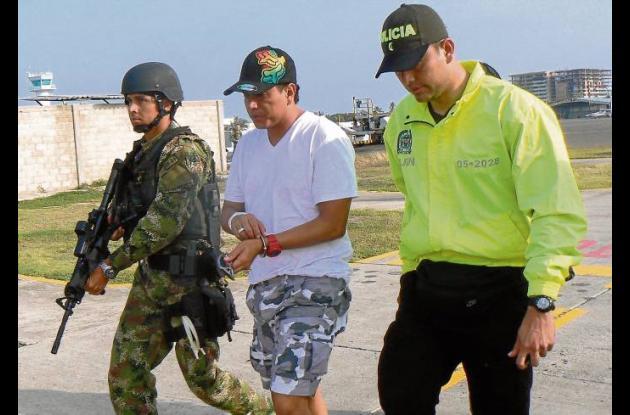 """Camilo Torres Martínez, alias """"Fritanga"""", extraditable capturado"""