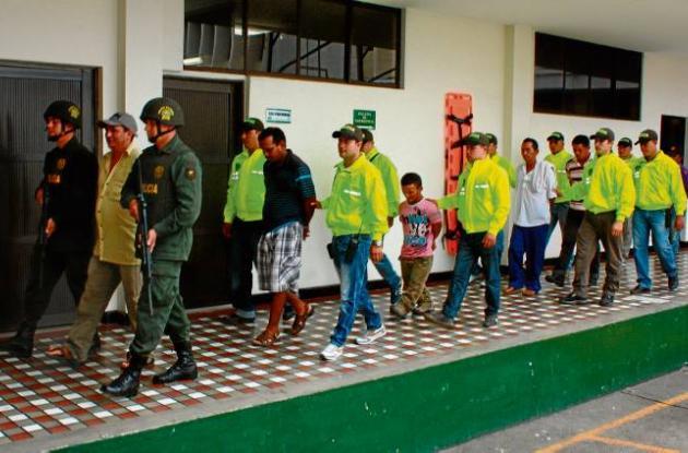 Capturados miembros de las bandas criminales  en Córdoba