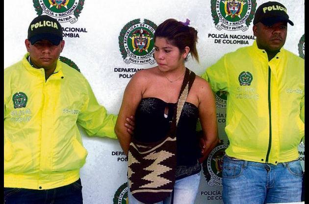 Sandra Patricia Beltrán Otalvaro, capturada por hurto y porte ilegal de armas