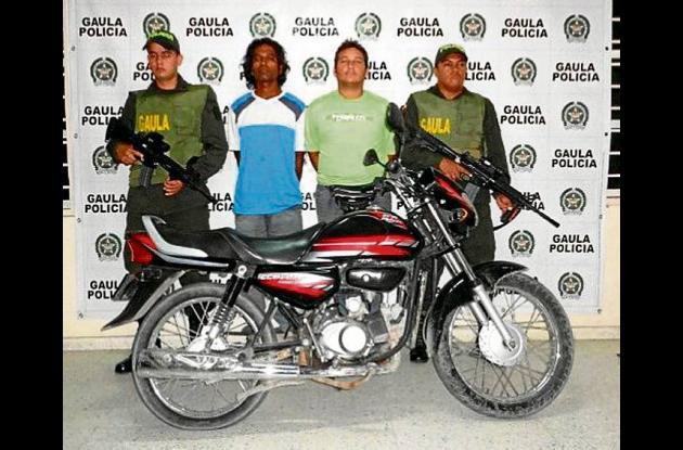 Junior Iriarte Altamar y Jorge Pérez Salgado, capturados.