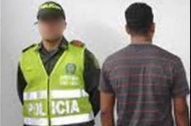 Tulio Rafael Martínez Muñoz, capturado por hurto calificado.