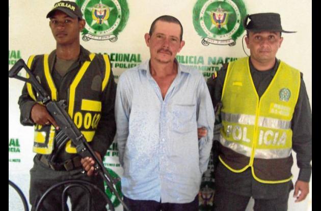 Ángel Alberto Fuertes Lara, capturado en Plamito, Sucre