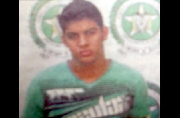 Manuel Cogollo Morales, capturado.