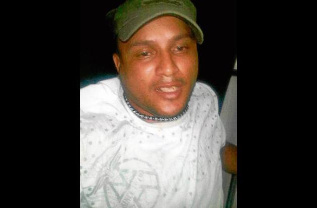 Luis Gabriel Correa, 'boca de rana' capturado.