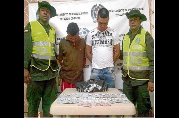 Capturados en Corozal, luego de perpetrar un robo a una docente