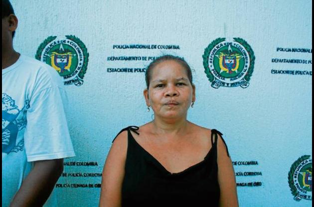 Piedad Franco Blanco, mujer capturada por drogas