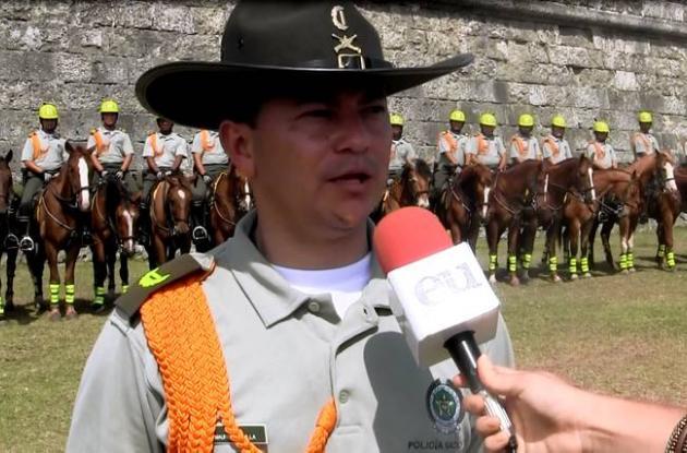 Mayor Mauricio Bonilla, jefe Dispositivo de Carabineros para la Cumbre.