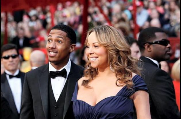 Mariah Carey y Nick Cannon.