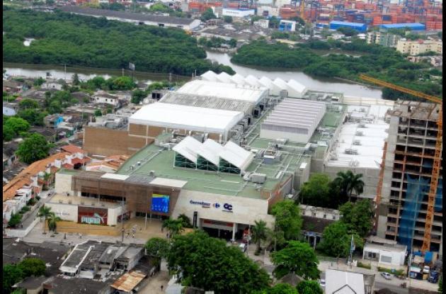 Caribe Plaza es un centro comercial que marca un polo de desarrollo.