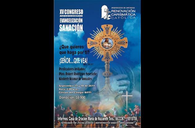 Hoy y mañana Congreso Arquidiocesano en Cartagena.