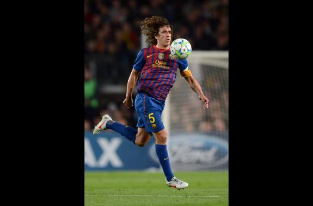 Carles Puyol, capitán del Barcelona