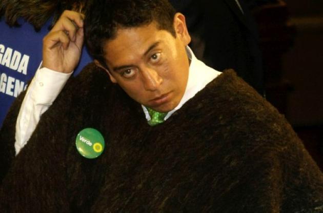 Carlos Andrés Amaya, representante por Partido Verde.