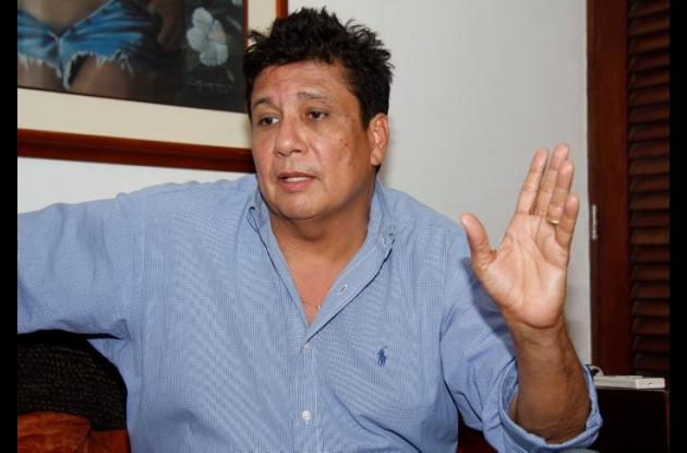 Carlos Díaz Redondo, ex alcalde de Cartagena.