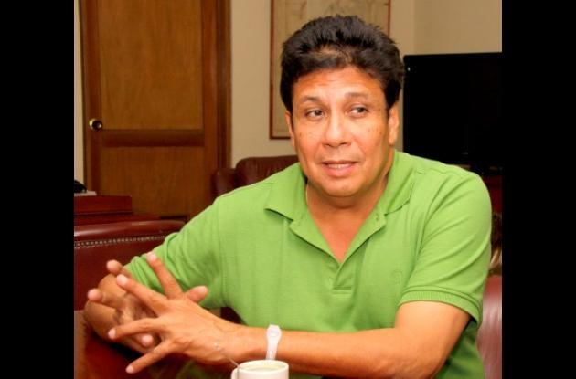 Carlos Díaz Redondo, candidato a la Alcaldía de Cartagena por el Partido Verde.