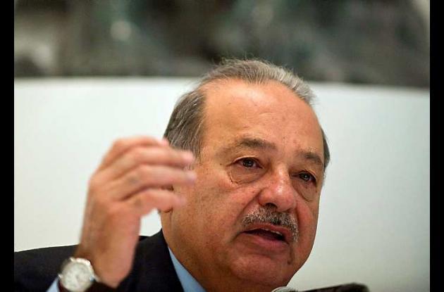 Carlos Slim, magnate mexicano de las telecomunicaciones.