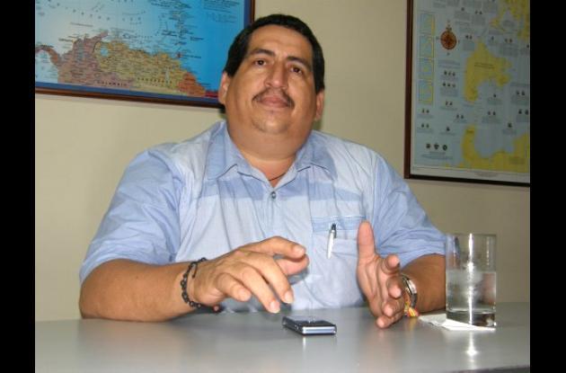 Carlos Durán Becerra, alcalde restituido.