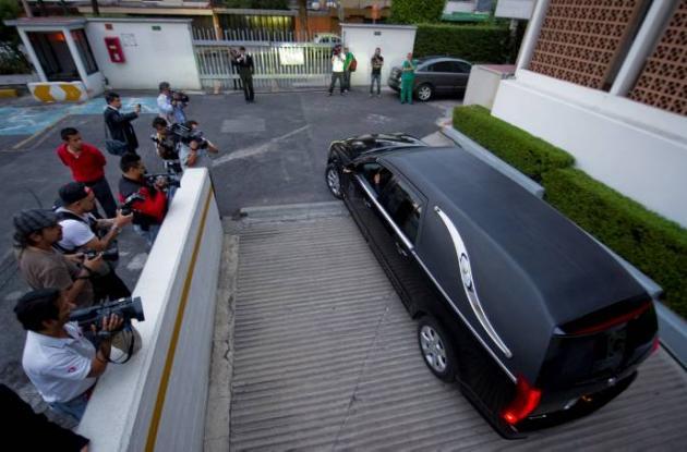 Funeral de Carlos Fuentes.