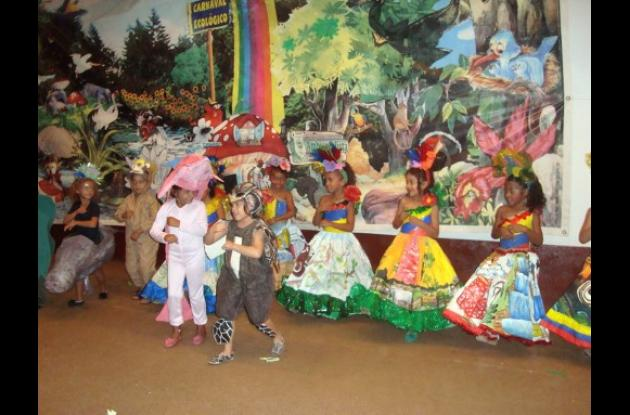 Mañana,XIII Carnaval Ecológico Infantil Distrital.