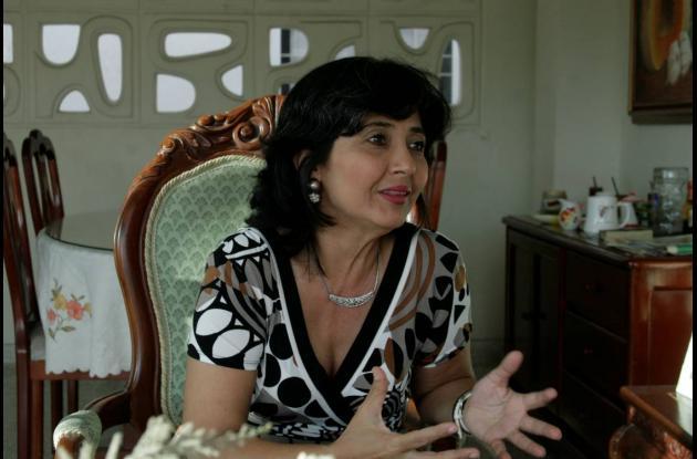 Carolina Cuello, madre de Mario.
