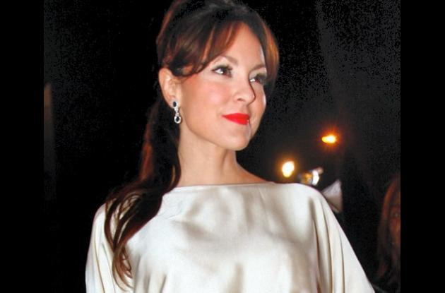 Carolina Gómez, presentadora del sorteo del Mundial de Fútbol Sub-20.