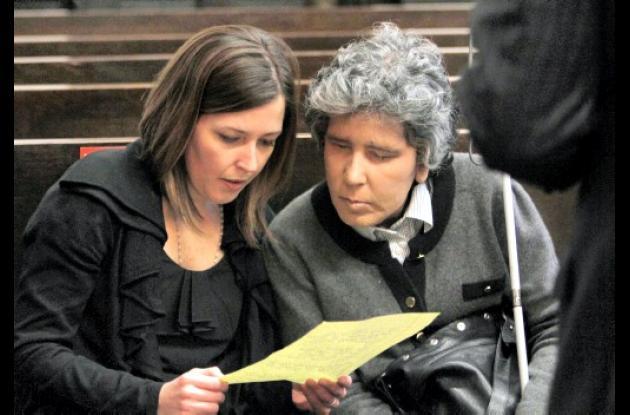 Carolina Pérez Rodríguez y su mamá, Blanca Rodríguez.