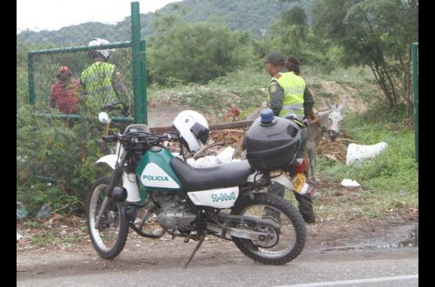 Arrojo de escombros en Cartagena