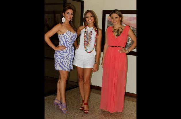 Aspirantes a Señorita Cartagena 2012