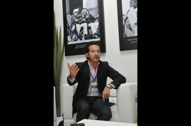 Luis Ernesto Araújo Rumié, presidente ejecutivo de la Corporación Turismo.