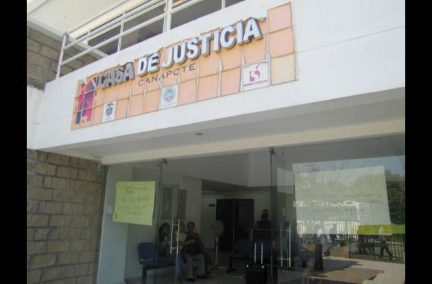 Casa de Justicia de Canapote.