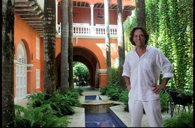 Claude Pimont, gerente del Hotel Boutique Casa Pestagua.