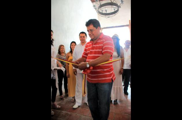 El gobernador Alberto Bernal inaugura la restaurada Casa de la Cultura de Mompox