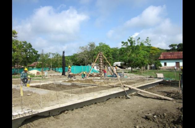 La construcción de la Casa del Pueblo de El Salado es posible gracias a la inver