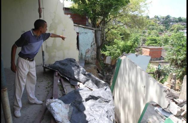 Muchas familias perdieron sus casas por los efectos del Fenómeno de la Niña 2010