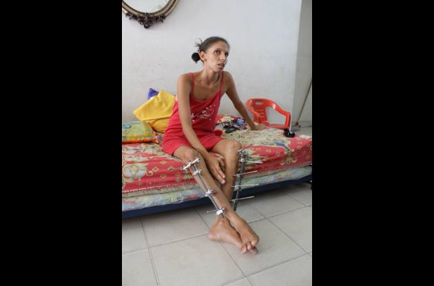 Laura Sánchez, mujer maltratada por su exmarido.