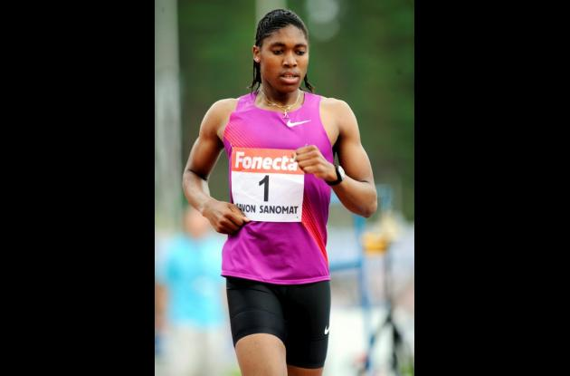 La sudafricana Caster Semenya tiene como objetivo ganar los 1.500 metros